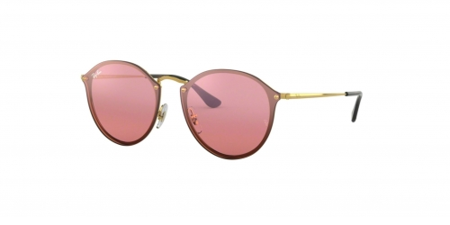 Ray-Ban BLAZE ROUND RB3574N RB 3574N 001/E4 Gold
