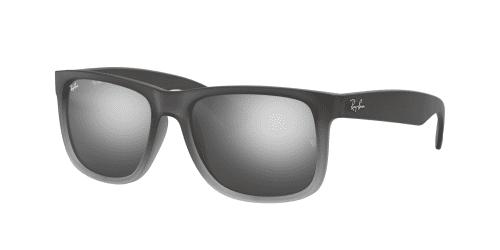RB4165 Justin RB 4165 Justin 852/88 Rubber Grey/Grey Transparent