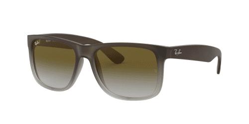 RB4165 Justin RB 4165 Justin 854/7Z Rubber Brown on Grey