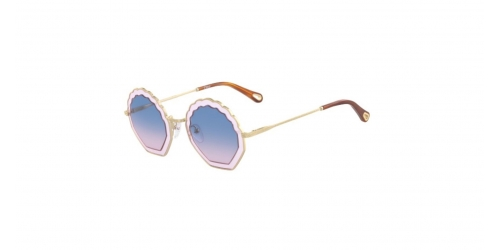 Chloe TALLY CE147S CE 147S 833 Gold Light Pink/Gradient Blue
