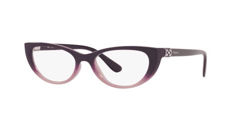 Vogue Vogue VO5240B VO 5240B 2670 Top Dark Violet Grad Opal Pink
