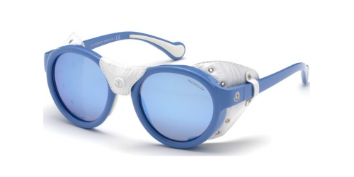 ML0046 ML 0046 84C Shiny Light Blue/Smoke Mirror
