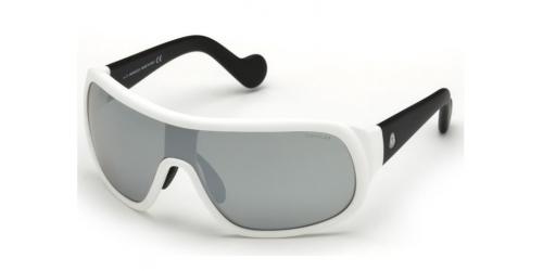 ML0048 SHIELD ML 0048 SHIELD 23C White/Black/Smoke Mirror