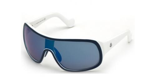 Moncler ML0048 SHIELD 92X Blue/Blue Mirror