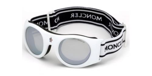 UNISEX GOGGLES ML0051 Mask UNISEX GOGGLES ML 0051 Mask 21C White/Smoke Mirror