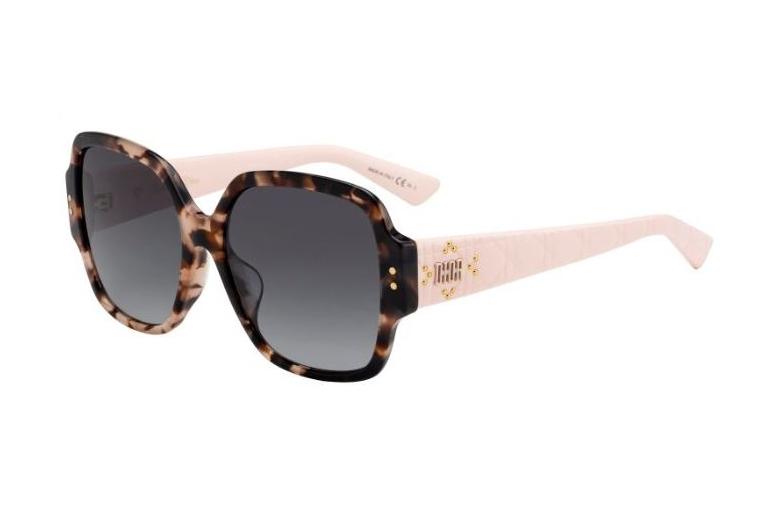 af65015ab3b Christian Dior LADYDIORSTUDS5F LADYDIOR STUDS 5F 01K 9O Havana Light Pink