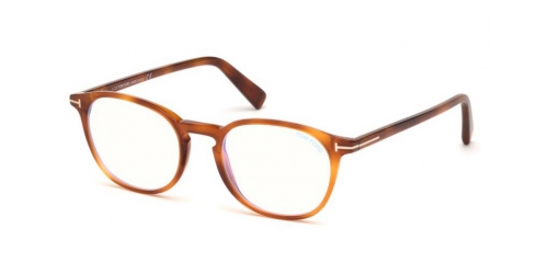 Tom Ford TF5583-B Blue Control TF 5583-B 053 Blonde Havana