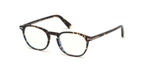 Tom Ford TF5583-B Blue Control TF 5583-B 056 Havana