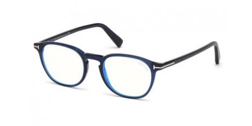 Tom Ford TF5583-B Blue Control TF 5583-B 090 Shiny