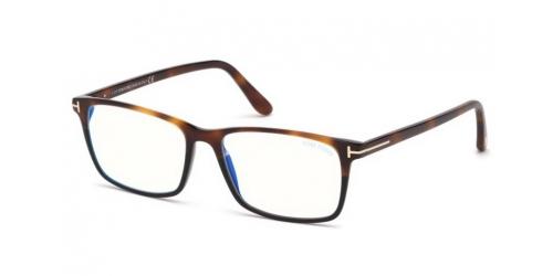 Tom Ford TF5584-B Blue Control TF 5584-B 053 Blonde Havana