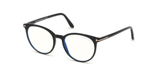 Tom Ford Tom Ford TF5575-B Blue Control TF 5575-B 001 Shiny Black