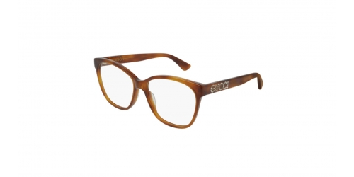 Gucci SEASONAL ICON GG0421O GG 0421O 004 Light Havana