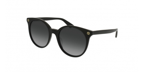 Gucci SENSUAL ROMANTIC GG0091S GG 0091S 001 Black