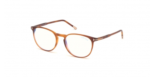 Tom Ford TF5608-B Blue Control TF 5608-B 053 Blonde Havana
