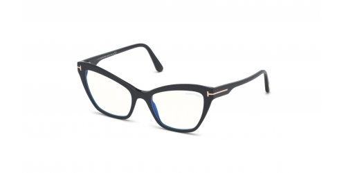 Tom Ford TF5601-B Blue Control TF 5601-B 001 Shiny Black