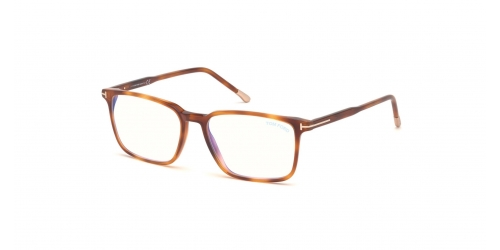 Tom Ford TF5607-B Blue Control TF 5607-B 053 Blonde Havana