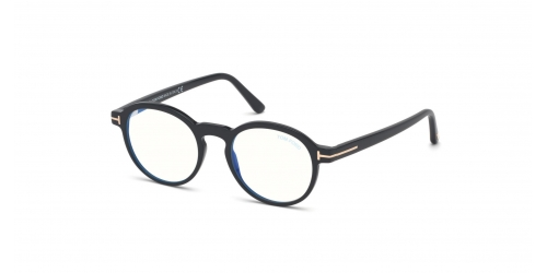 Tom Ford TF5606-B Blue Control TF 5606-B 001 Shiny Black