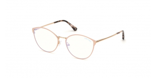 Tom Ford TF5573-B Blue Control TF 5573-B 072 Shiny Pink