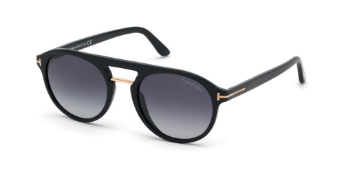 Tom Ford IVAN-02 TF0675 01W Shiny Black