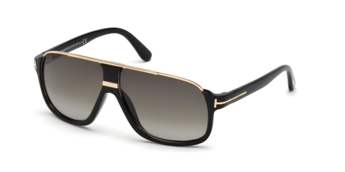 Tom Ford Tom Ford ELIOTT TF0335 01P Shiny Black