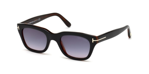 Tom Ford SNOWDON TF0237 05B Black/Gradient Smoke