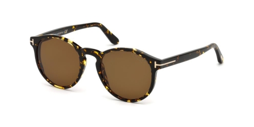 Tom Ford IAN-02 TF0591 52M Havana/Polarized