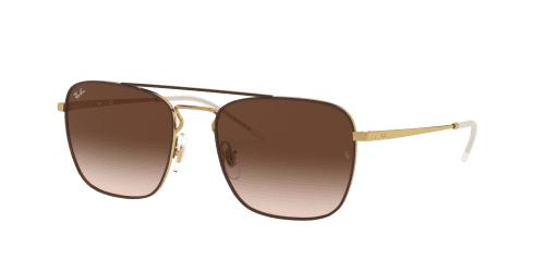 Ray-Ban Ray-Ban RB3588 905513 Gold Top on Brown