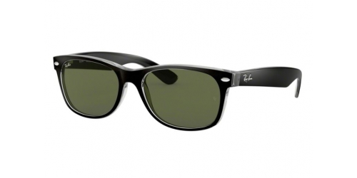 Wayfarer RB2132 Wayfarer RB 2132 6052 Top Black on Transparent