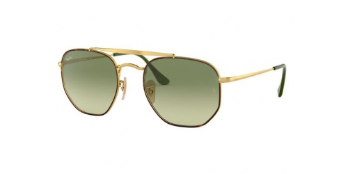 RB3648 The Marshal RB 3648 The Marshal 91034M Gold/Green Gradient