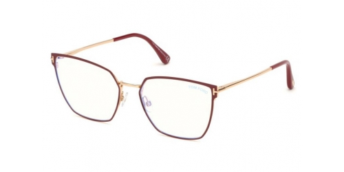 Tom Ford FT5574-B FT 5574-B 069 Shiny Bordeaux