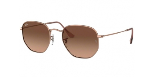 Ray-Ban RB3548N Hexagonal RB 3548N 9069A5 Copper