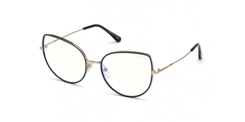 Tom Ford TF5614-B TF 5614-B 001 Shiny Black