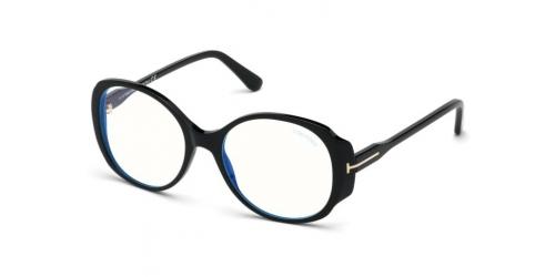 Tom Ford Tom Ford TF5620-B Blue Control TF 5620-B 001 Shiny Black