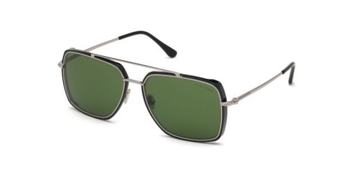 Tom Ford TF0750 01N Shiny Black/ Green