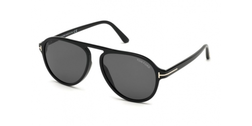 Tom Ford TONY TF0756 01A Shiny Black / Smoke