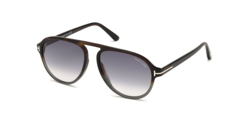 Tom Ford TF0756 52B Dark Havana / Gradient Smoke