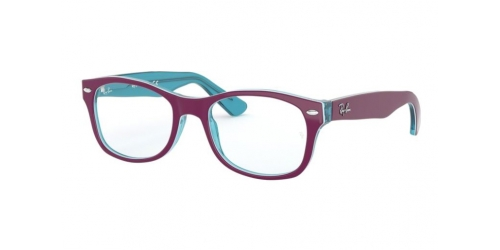 Ray-Ban Kids Ray-Ban RY1528 3763 Blue Transparent on Fuxia