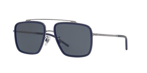 D&G Dolce & Gabbana DG2220 04/80 Gunmetal/Matte Blue