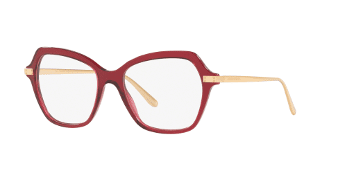 D&G Dolce & Gabbana DG3311 3211 Transparent Bordeaux