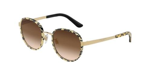 Dolce & Gabbana DG2227J DG 2227J 02/13 Glitter Gold/Gold